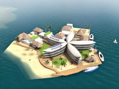 Design seastead French Polynesia