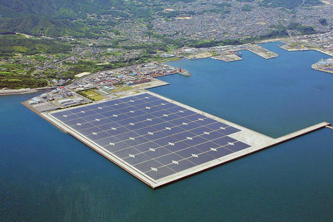 Kyocera-worlds-largest-floating-solar-plant-in-Japan