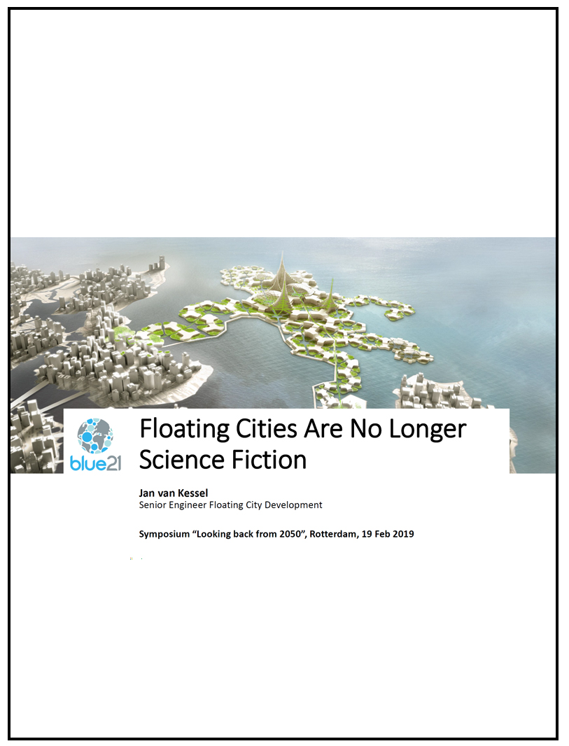 Floating Cities are no longer science fiction