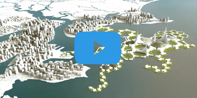 Floating Cities with a positive impact on the planet