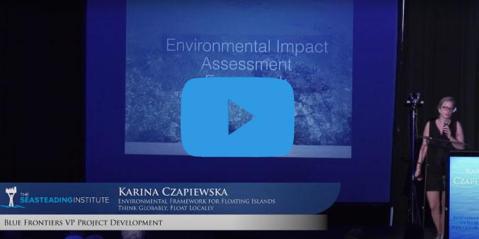 Environmental Framework for Floating Islands