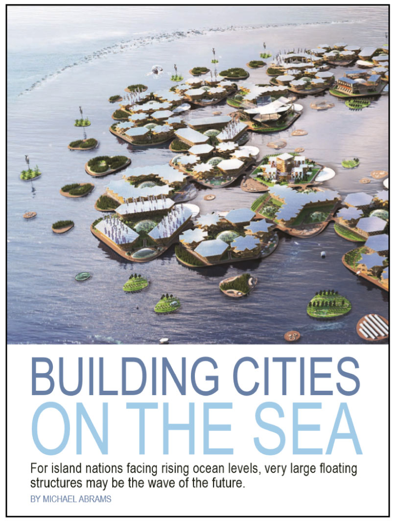 Building Cities on the Sea