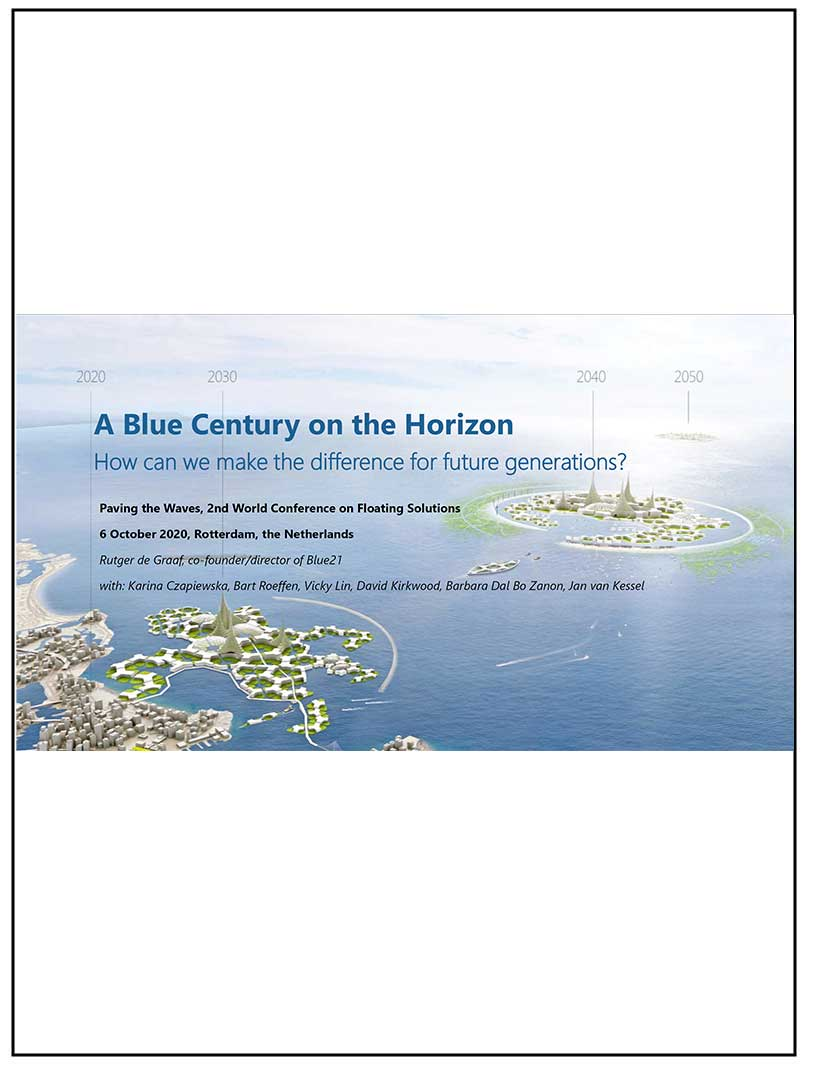 A Blue Century on the Horizon: Paving the Waves Keynote