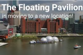 Moving of the Floating Pavilion