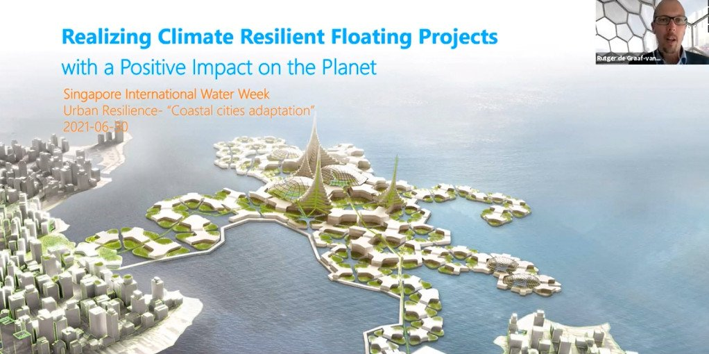 Realizing Climate Resilient Floating Projects- Blue21 presented at SIWW2021
